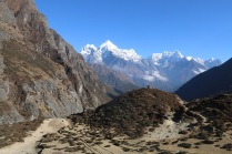 Towards Namche